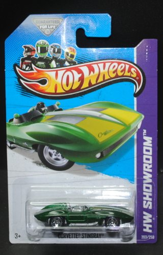 Hot Wheels 2013 Corvette Stingray HW Showroom 203/250