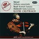 Mozart: Sinfonia Concertante/Bruch: Scottish Fantasia; Hindemith: Violin Concerto (2 CDs)
