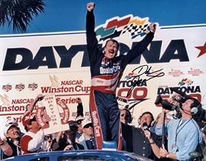 Dale Jarrett Autographed Daytona 500 Photo - SM Holo - Autographed NASCAR Photos by Sports Memorabilia
