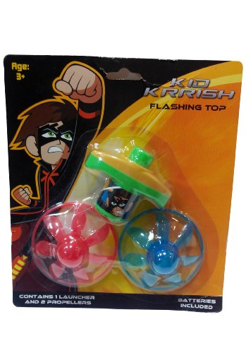 Impulse Kid Krrish Flash UFO Top, Red/Blue/Green
