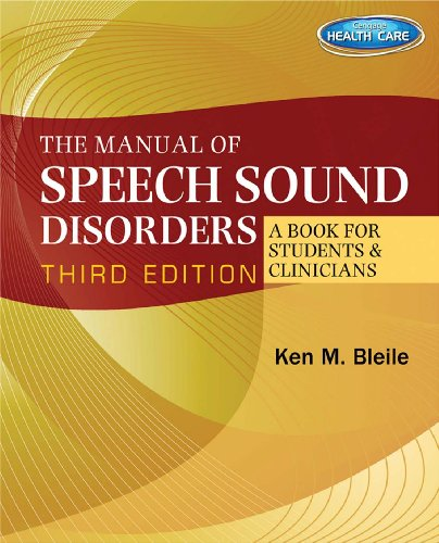 The Manual of Speech Sound Disorders: A Book for Students and Clinicians