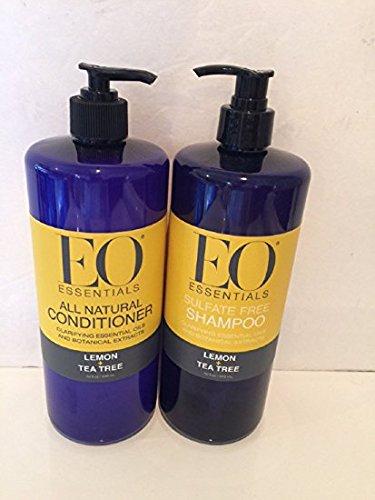 EO Essentials Shampoo + Conditioner Lemon + Tea tree (Eo Essentials Conditioner compare prices)