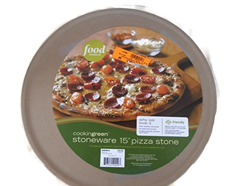 "Food Network 15"" Round Pizza Stone front-625784"