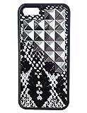 wildflower ( ワイルドフラワー ) ロサンゼルス の スネークスキン シルバー スタッズ ピラミッド iphoneケース 5 5s ケース Snakeskin Silver Studded Pyramid iPhone 5 5s Case  ファブリック スタッド アイフォン モバイル カバー iphone5 iphone5s apple 海外 ブランド