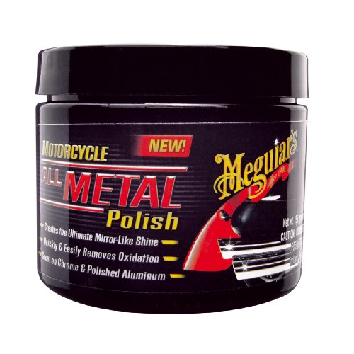Meguiars All Metal Polish Motorcycle Polish 197 g