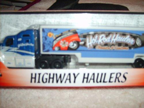 Speed Wheels Highway Haulers ~ Hot Rod Hauler (Blue)
