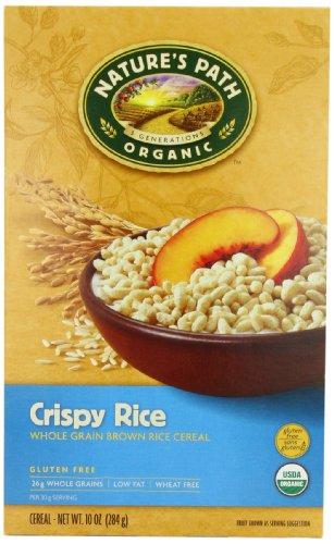 Nature's Path Crispy Rice - 10 oz (Gmo Free Rice Cereal compare prices)