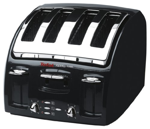 Tefal Avanti Classic 532718 Toaster, 4 Slice, Black by Groupe Seb