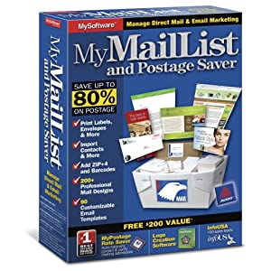 My Mail List and Postage Saver