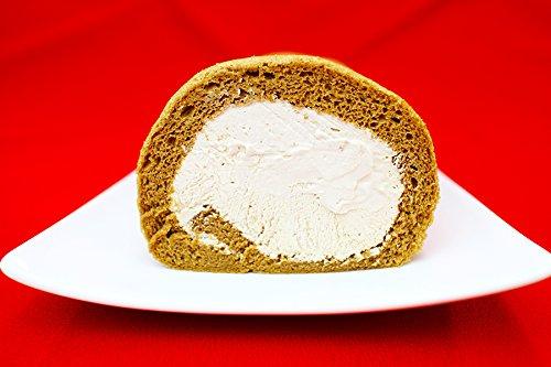 ロールケーキ (手作り  国産生クリームたっぷりコーヒーロールケーキ ) サクラメルシェ