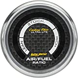 Auto Meter 4775 Carbon Fiber Electric Air Fuel Ratio Gauge