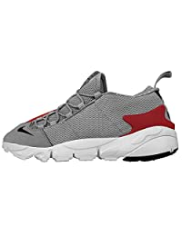 Nike Men's AIR FOOTSCAPE MOTION, BASE GREY/BLACK/LIGHT CRIMSON/SUMMIT WHITE