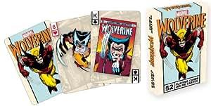 Aquarius Marvel Comics Wolverine Playing Card Game