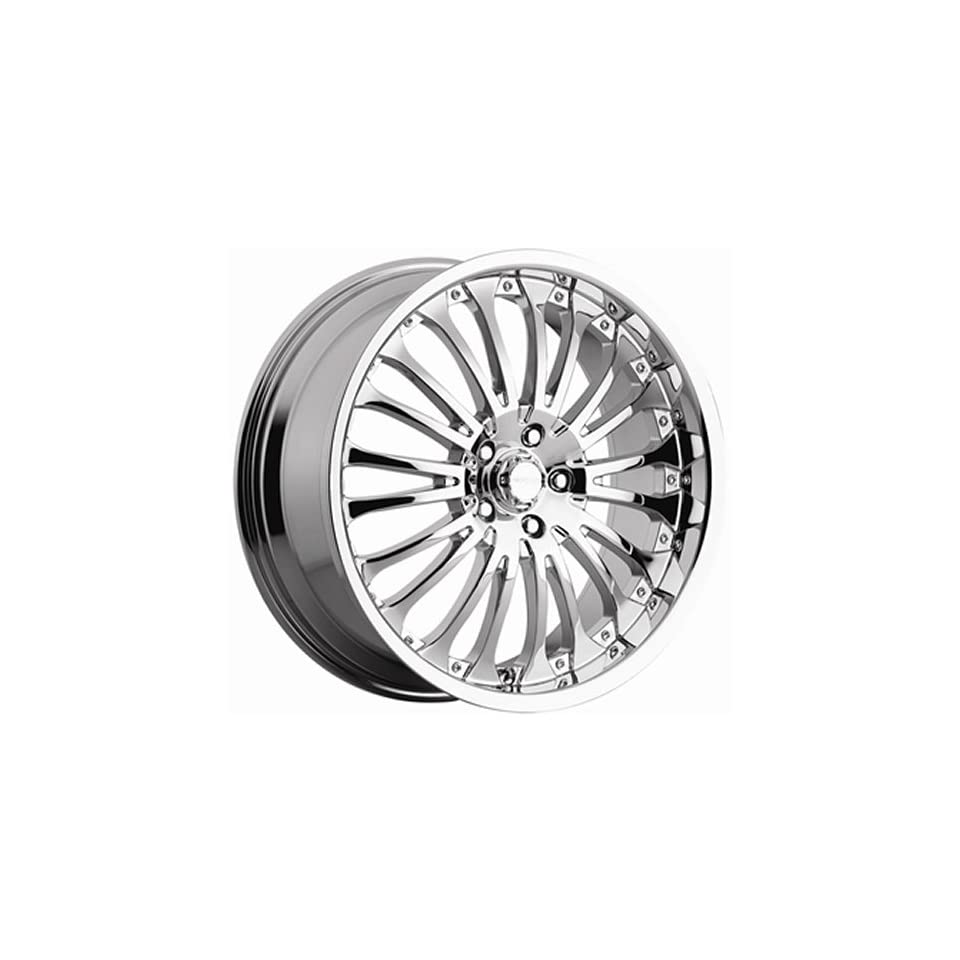 Menzari Hydro 20x10 Chrome Wheel / Rim 5x112 with a 45mm Offset and a 74.10 Hub Bore. Partnumber Z02200544+45C Automotive