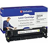 Verbatim Remanufactured Toner Cartridge Replacement for HP CE412A ( Yellow )