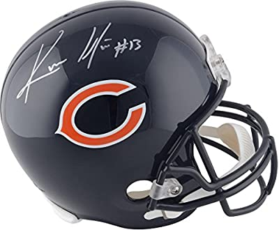 Kevin White Chicago Bears Autographed Riddell Replica Helmet - Fanatics Authentic Certified - Autographed NFL Helmets
