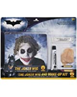 Batman Deluxe Joker Wig And Make Up Kit