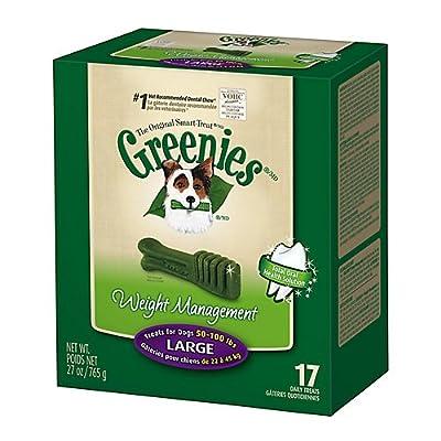 Greenies Large Dog Dental Chew 27oz 17ct
