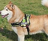 犬 用 胴輪 ハーネス ふかふか クッション 咳き込み軽減 丈夫で長持ち 迷彩 XL