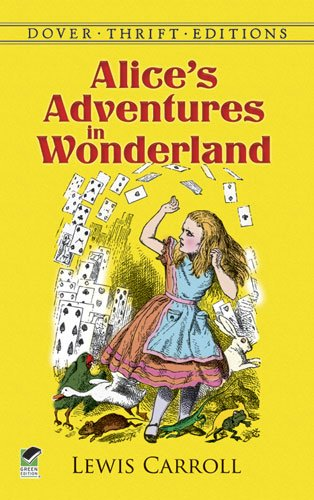 Cover of Alice's Adventures in Wonderland (Dover Thrift Editions)