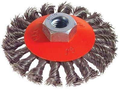 G n rique brosse metallique conique pour meuleuse fil en acier torsade accessoires pour - Brosse metallique meuleuse ...