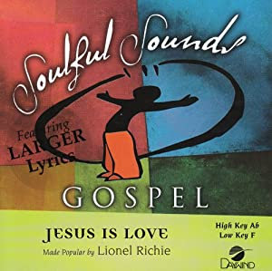 Jesus Is Love [Accompaniment/Performance Track]