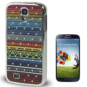 Color Decorative Pattern Luxury Bling Diamond Plating Skinning Plastic Case for Samsung Galaxy S IV / i9500
