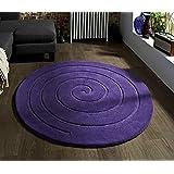 Spiral Purple 140 x 140cm