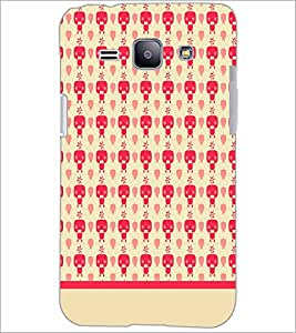 PrintDhaba Pattern D-1901 Back Case Cover for SAMSUNG GALAXY J1 (Multi-Coloured)