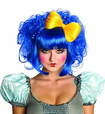 Rubie's Costume Cutie Doll Costume Wig, Blue, One Size