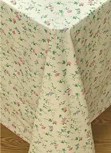 Amazon Com Vine Time Flannel Backed Vinyl Tablecloth