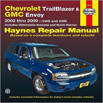 Chevrolet Trailblazer and GMC Envoy 2002-2009 Repair Manual (Haynes Repair Manual)
