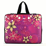 Flowers 9.7″ 10″ 10.1″ 10.2″ inch Laptop Netbook Tablet Case Sleeve Carrying bag with Hide Handle For iPad 2 3/Asus EeePC 10 transformer/Acer Aspire one/Dell inspiron mini/Samsung N145/Toshiba/Kindle DX/Lenovo S205/HP Touchpad Mini 210