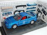 Honda Acura integra Type-r 2000 Blau Coupe Mit Tuningteilen 1/24 Motormax Modellauto Modell Auto