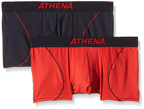 athena-free-motion-boxer-multicolore-lot-de-2-homme-multicolore-petrole-rouge-medium-taille-fabrican