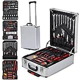 Femor 599-teilige Universal Werkzeugkasten mit Werkzeug...