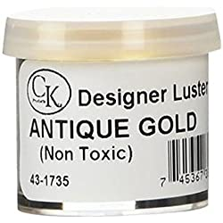 Oasis supply Lustre Dust, Pharaoh's Gold (Old Gold), 2 Gram