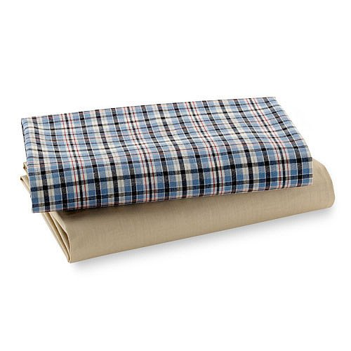 Plaid Crib Sheets front-827343