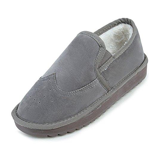 Scarpe da Donna,Xinantime Inverno caldo Piatto Cotone Scarpe La neve Scarpe (grigio, 37)