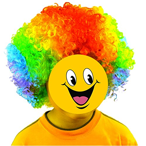 TOPTIE Afro Wig, Halloween Costume Party Wig, For Children