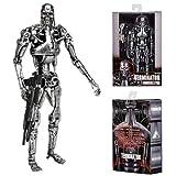 "Terminator - 7"" Scale Action Figure - T-800 Endoskeleton (Classic Terminator) Window Box Figure"