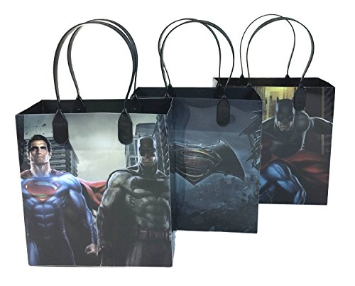 Marvel Batman v Superman Party Favor Gift Goodie Bag - 24 Pieces at Gotham City Store