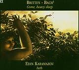 Bach; Britten: Dowland Nocturne For Lute & Partita 2 Edin Karamazov