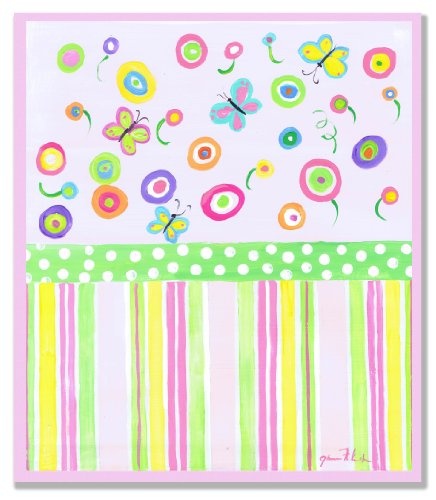 The Kids Room by Stupell Multi-Colored Butterflies Rectangle Wall Plaque