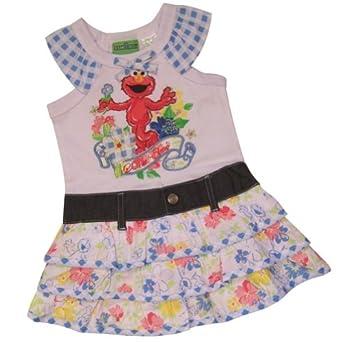 Amazon Sesame Street Elmo Toddler Girls Dress Size 4T