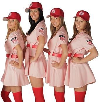 League of Their Own Rockford Peaches Dlx Costume (Small / Medium)