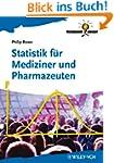 Statistik f�r Mediziner und Pharmazeu...