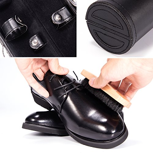 Magicfly Shoes Polish Kit-9Pcs Shoe Shine Care Kit.