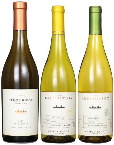 Springtime Sippers: Canoe Ridge White Wines Mixed Pack, Horse Heaven Hills, 3 X 750 Ml
