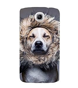 EPICCASE dog at saloon Mobile Back Case Cover For Samsung Galaxy Mega 5.8 I 9150 (Designer Case)